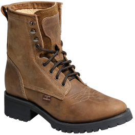 Bottines cuir marron WB-34