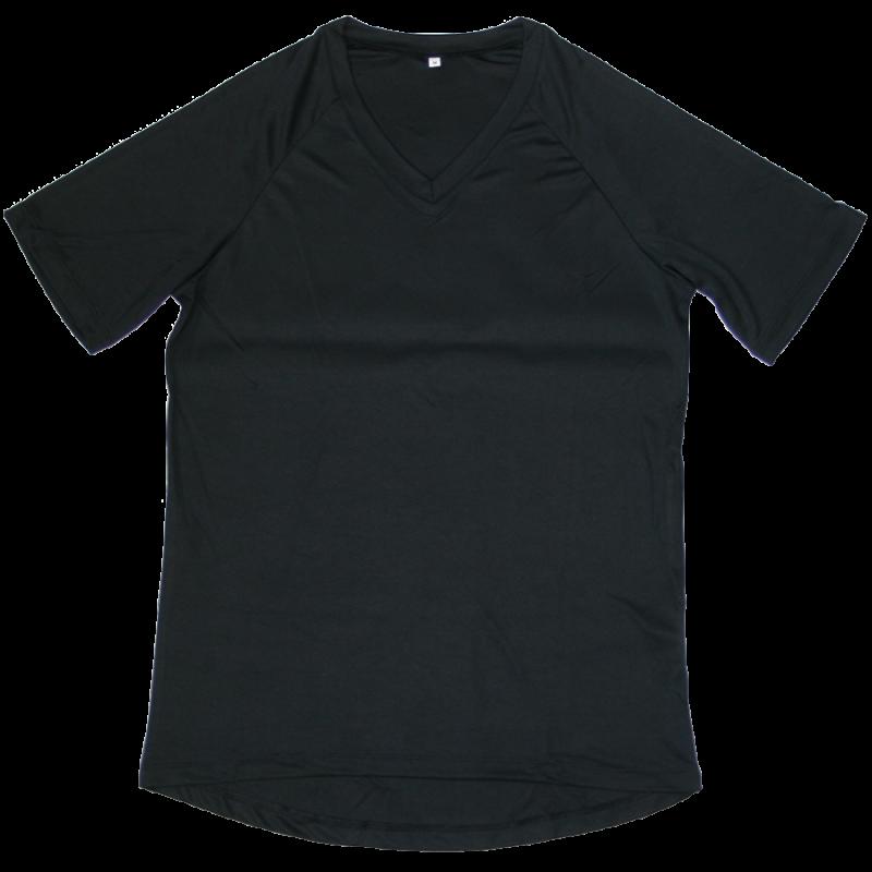 T-shirt thermique col V