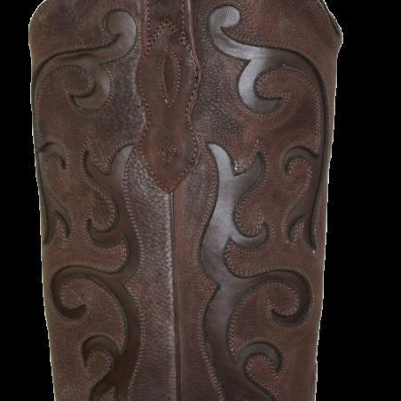 Bottes cuir marron LF1578