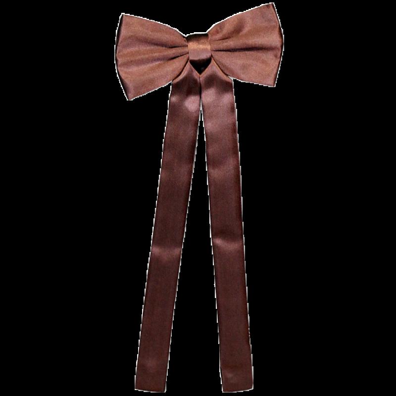 Cravate de colonel marron T-02