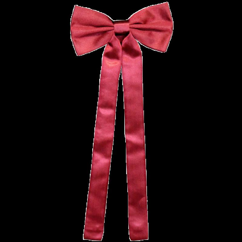 Cravate de colonel rouge T-03