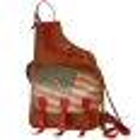 Sacoches cuir US FLAG