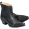 Bottines cuir ASHLEY BLACK