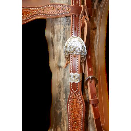 Bridon western Weaver Leather 10-0524