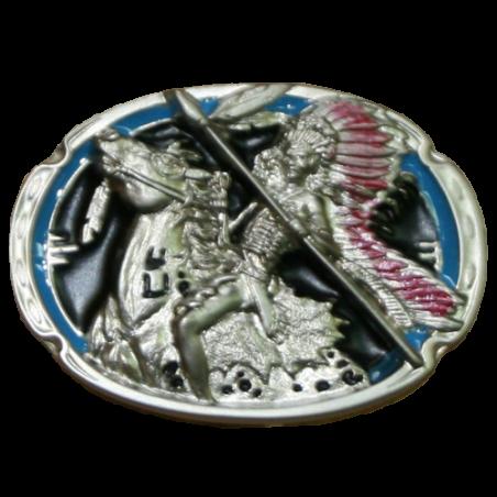 Boucle de ceinture indien AB00272-16