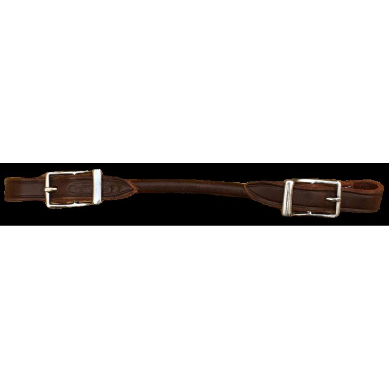 Gourmette cuir GVR161