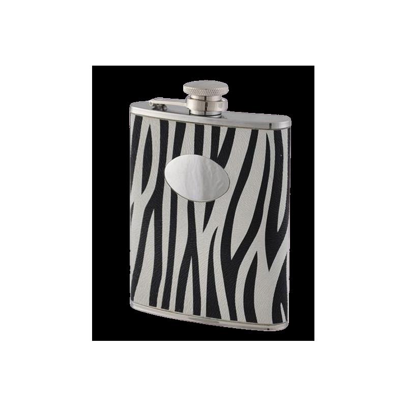 Flasque inox zebra BEL11667