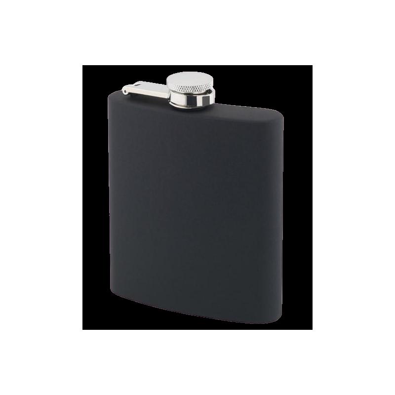 Flasque noire soft touch BEL11593