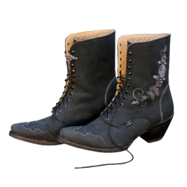 Bottines western Rosie Black