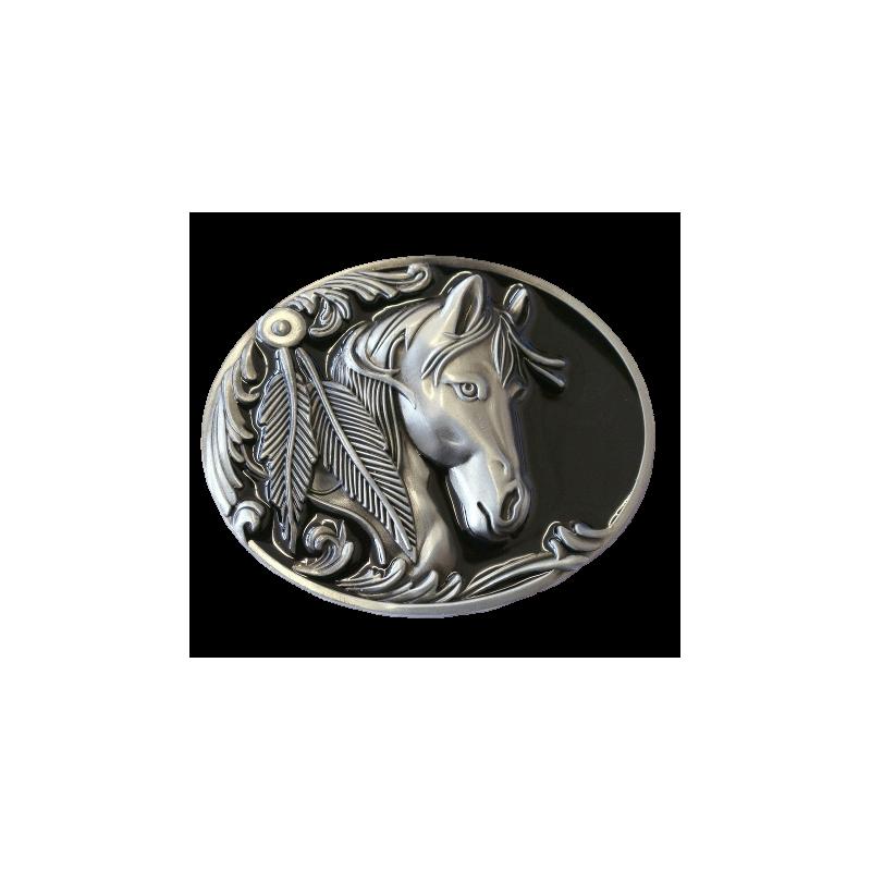 Boucle de ceinture Horse GS-406