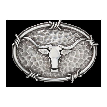 Boucle de ceinture Ariat longhorn