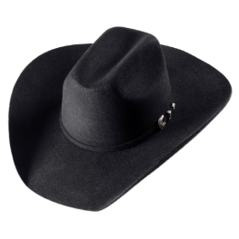 Chapeau WYOMING BLACK