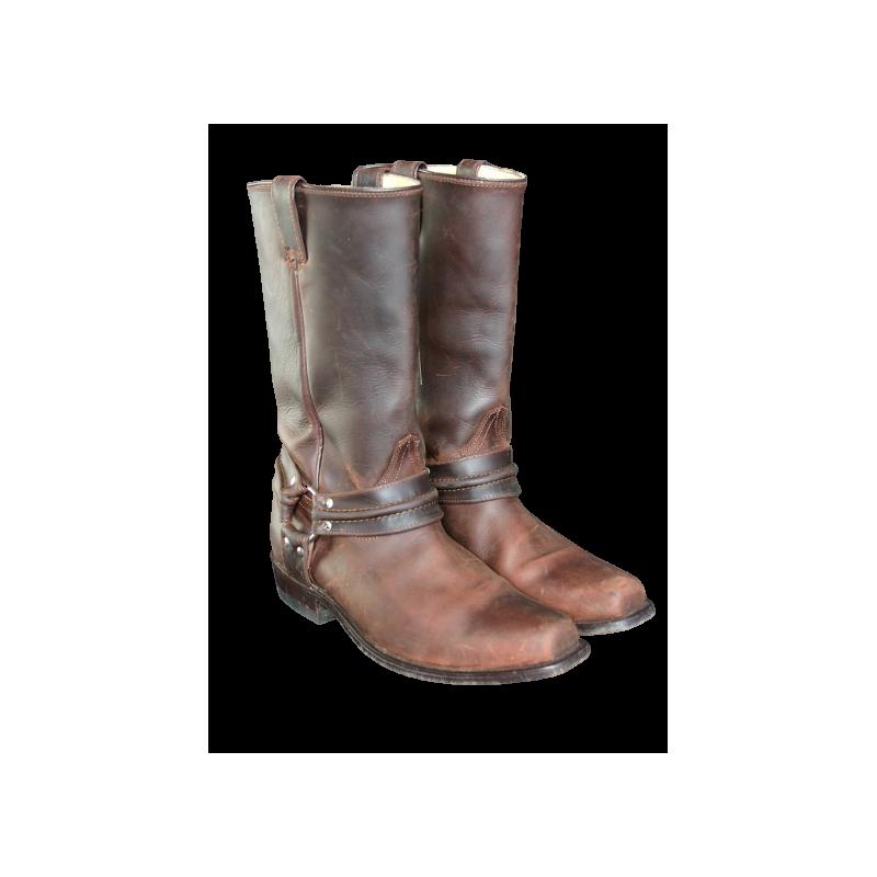 Bottes cuir marron wb01