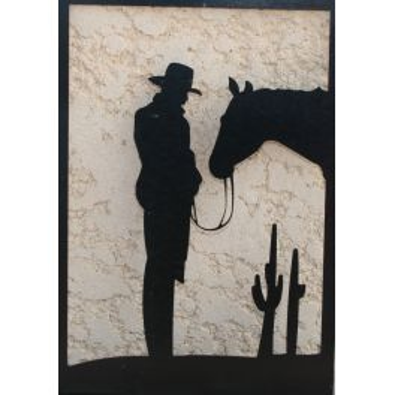 Enseigne western Cactus