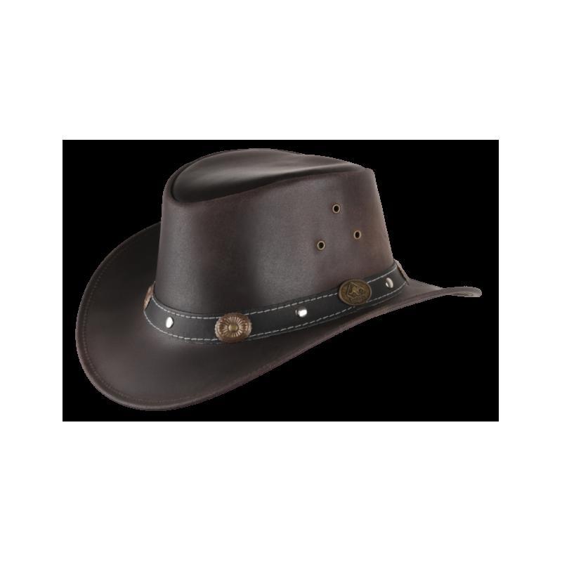 Chapeau cuir RENO