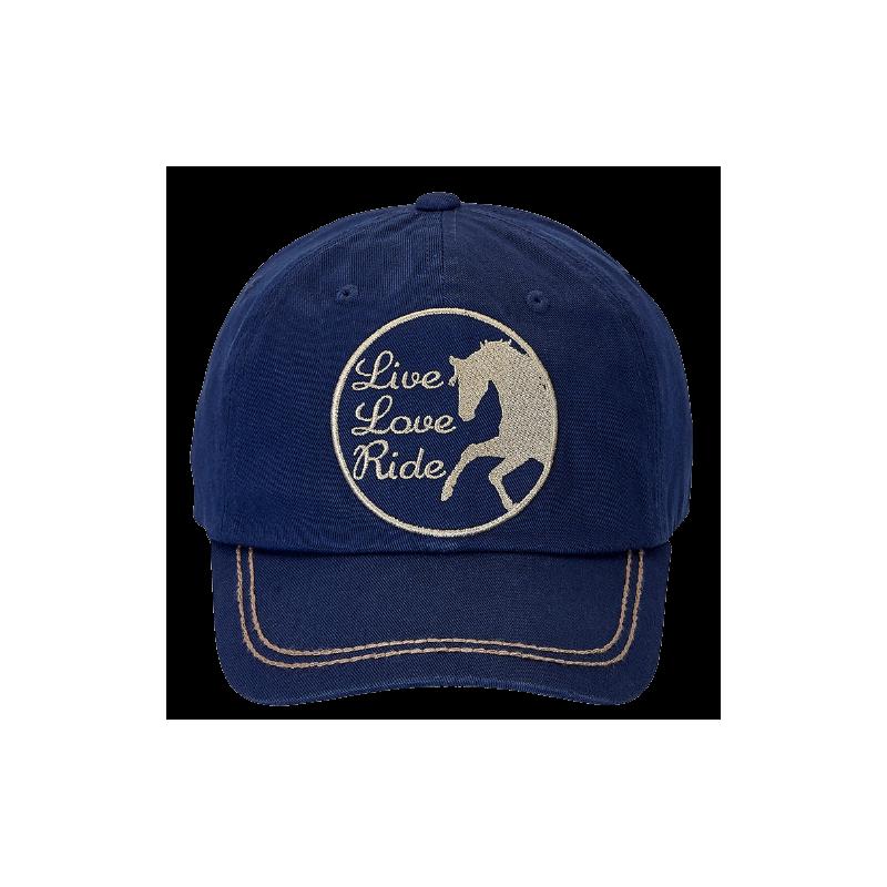 Casquette marine Live Love Ride WX CAP 124
