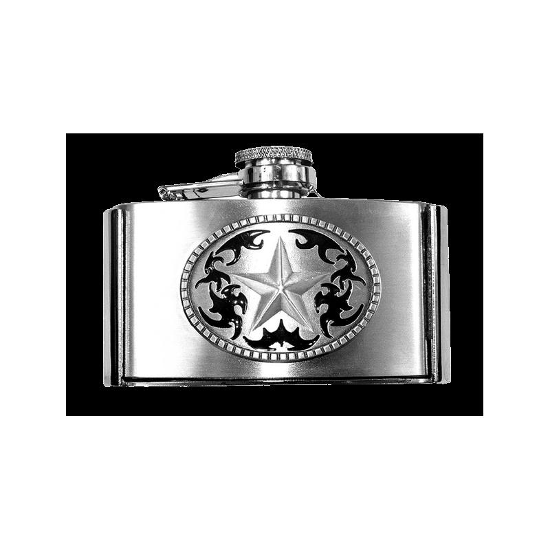 Boucle ceinture flasque Star SS GS509
