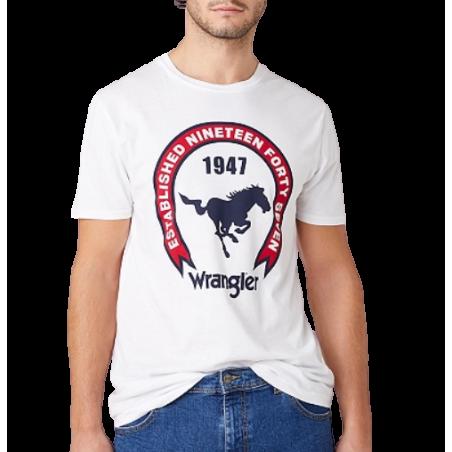 T-shirt Wrangler Americana