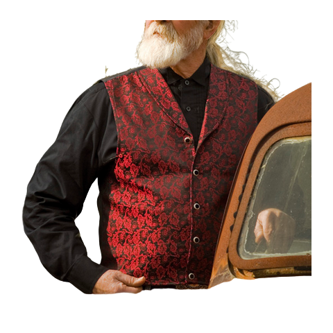 Gilet Old West RED BLUFF