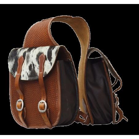 Sacoches cuir et crins Lakota AAC00077