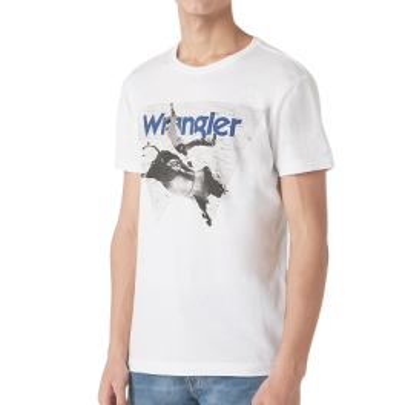 T-shirt Wrangler Bullrider