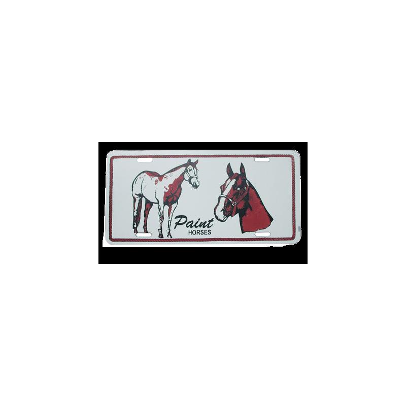 """Plaque """"Paint Horses"""" 3098507"""