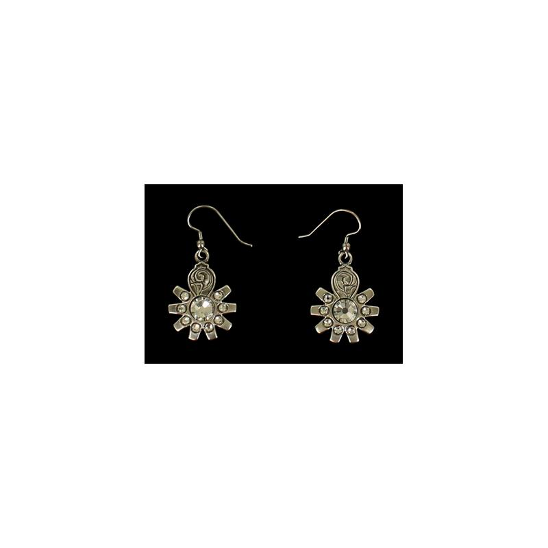 Boucles d'oreilles diamant MF30266