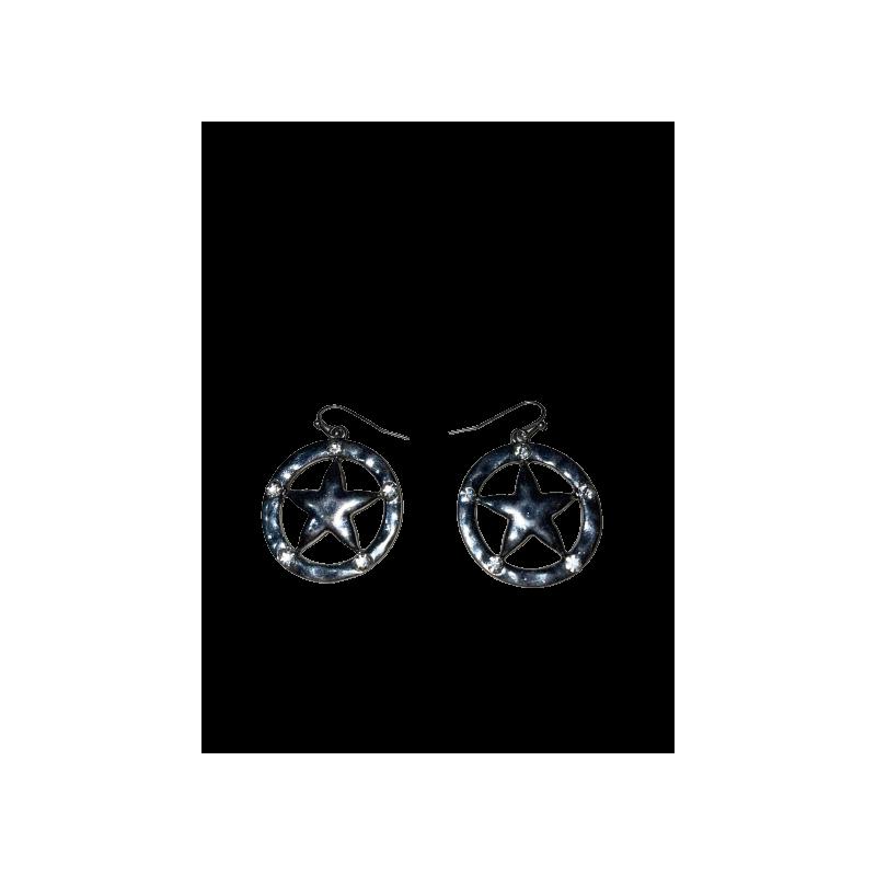 Boucles d'oreilles Texas Star WX 2273