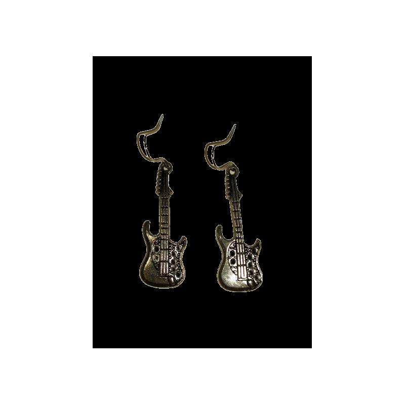 Boucles d'oreilles Guitare AEC LIZ05
